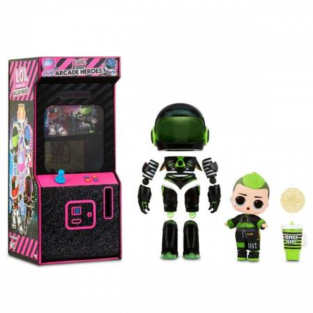 L.O.L Surprise Boys Arcade Heroes Bhaddie Bro lalka w automacie do gier